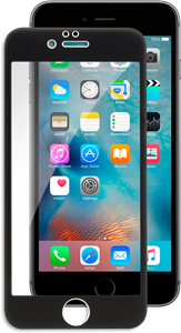 iZound 3D Grizzly Glass Full Frame iPhone 6/6S Black