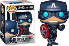 Funko POP Marvel - Captain America Tech Suit