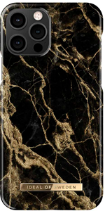 iDeal of Sweden Fashion Case iPhone 12/12 PRO Golden Smoke Marble