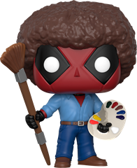 Funko POP Marvel -  Bob Ross Deadpool