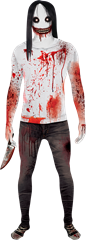 Morphsuit Jeff the Killer XL