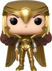 Funko POP DC Comics - Wonder Woman Golden Armor