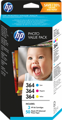 HP T9D88EE Nr 364 Photo Value Pack