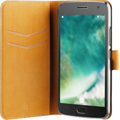Xqisit Slim Wallet Selection Lenovo Moto G5 Plus Black