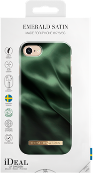iDeal of Sweden Fashion Case iPhone 6/6S/7/8/SE Emerald Satin