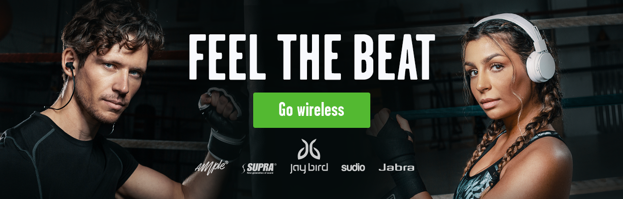 Feel the beat and go wireless med trådløse Bluetooth-hodetelefoner fra Supra, Sudio, Jabra mfl.