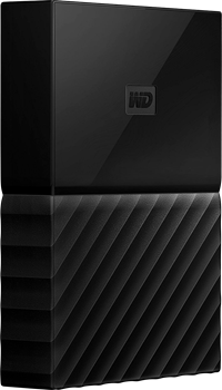WD My Passport for Mac 4TB Black