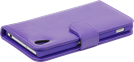 iZound Wallet Case Sony Xperia Z2 Purple