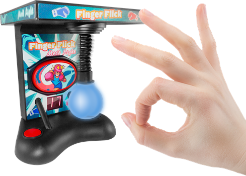 Finger Flick Mood Light