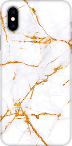 Avity TPU Case iPhone X/XS Golden Marble