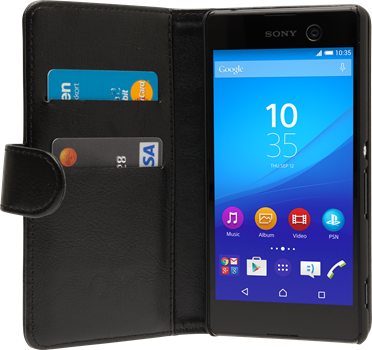 iZound Wallet Case Sony Xperia M5 Black