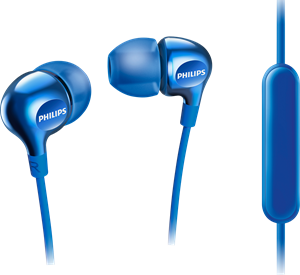 Philips SHE3705 Blue