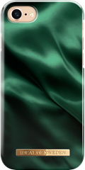 iDeal of Sweden Fashion Case iPhone 6/6S/7/8 Emerald Satin