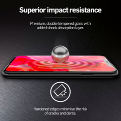 Thor CF Privacy + Frame for iPhone 11 / XR clear