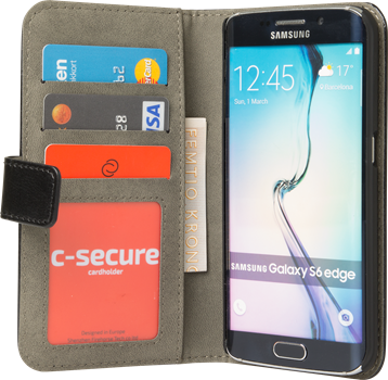 iZound Magnetic Wallet Samsung Galaxy S6 Edge Black