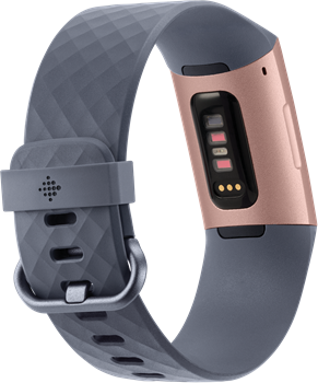 Fitbit Charge 3 Blue Grey/Rose-Gold