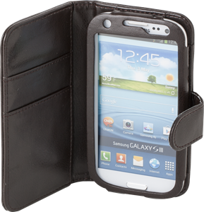 iZound Wallet Case Samsung Galaxy S III Dark Brown