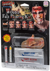 Wound facepainting kit