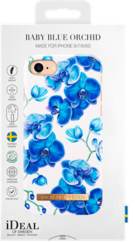 iDeal of Sweden Fashion Case iPhone 6/6S/7/8 Baby Blue Orchid