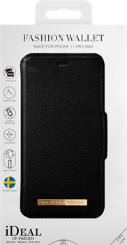 iDeal of Sweden Fashion Wallet iPhone XS Max/11 Pro Max Black