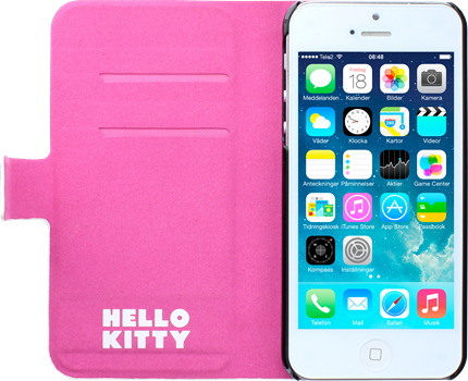 Hello Kitty Wallet Stripe iPhone 5/5S