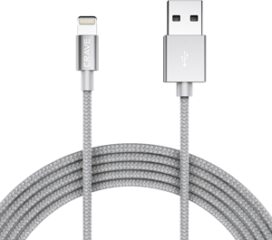 CRAVE Lightning to USB 1,2m Silver