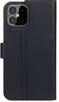 XQISIT Slim Wallet Selection Anti Bac for iPhone 12/12 Pro black