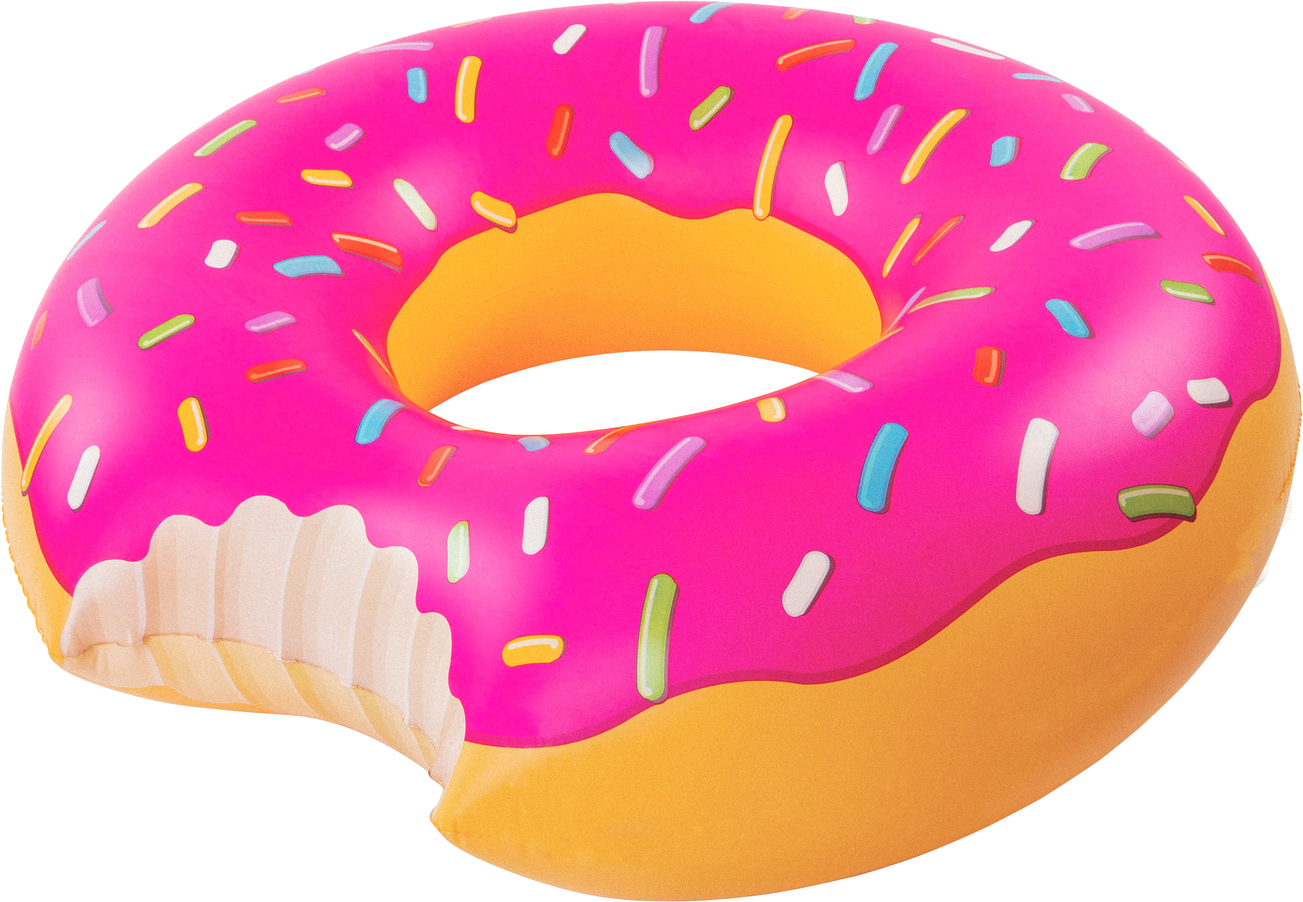 Pool Float Giant Donut Strawberry Frosting