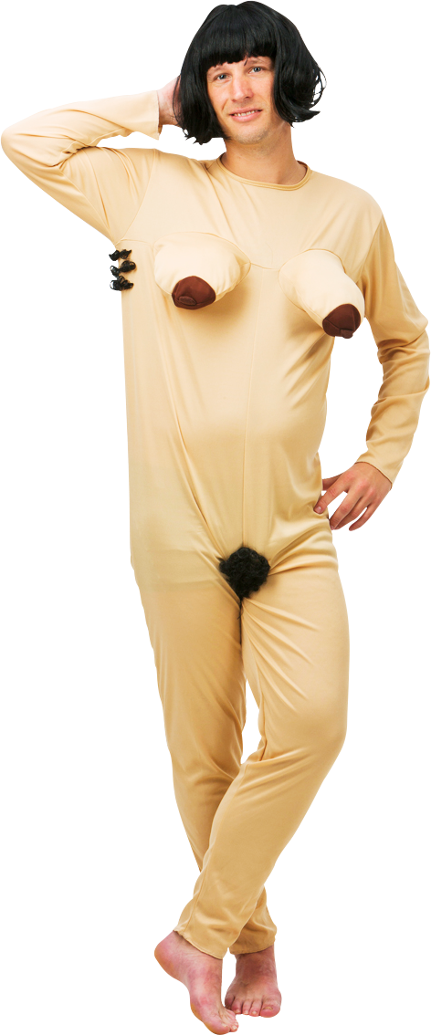 Naked Woman Suit