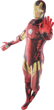 Morphsuit Iron Man Large