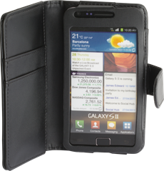 iZound Wallet Case Samsung Galaxy S II Black