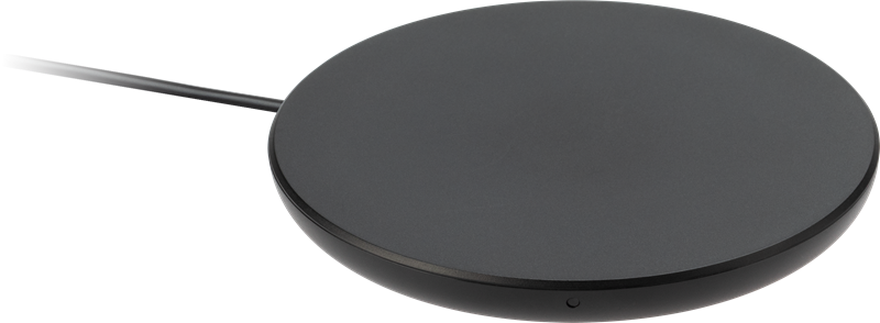 iZound Fast Wireless Qi Charger 10 W Black: Trådløs og