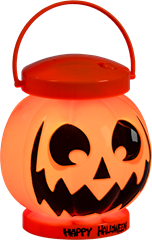 Happy Halloween Pumpkin Lantern Light And Sound