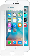 iZound 3D Curved Premium Grizzly Glass iPhone 6/6S Plus White