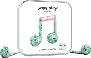 Happy Plugs Earbud Plus Pink Flamingos