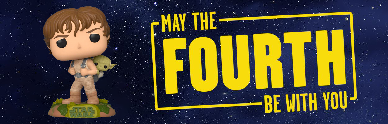 May the fourth be with you - Star Wars dagen - finn Star Wars dingser og merch