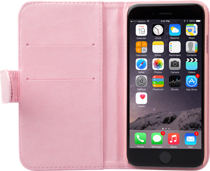 iZound Wallet Case iPhone 6/6S Plus Pink