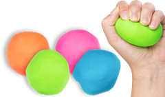Anti-Stress Ball Assorted Colours