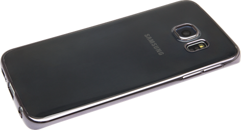 iZound TPU Electro Samsung Galaxy S6 Edge Gun Metal