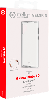 Celly TPU Cover Samsung Galaxy Note 10