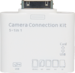 iZound iPad Camera Connection Kit 5in1