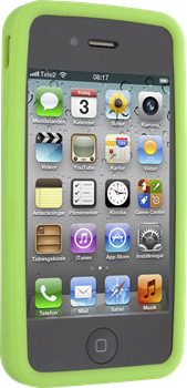 iZound Silicone Case iPhone 4/4S Green