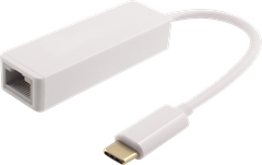 USB-C to Ethernet (RJ45)