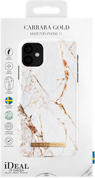 iDeal of Sweden Fashion Case iPhone XR/11 Carrara Gold