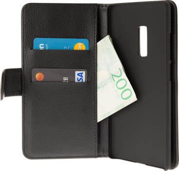 iZound Leather Wallet Case OnePlus 2 Black