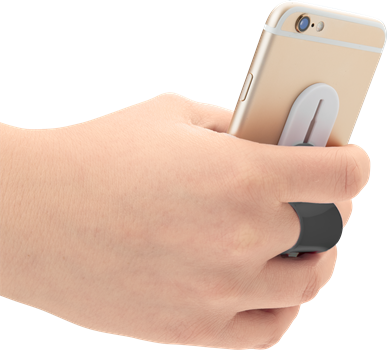 iZound Phone Finger Holder Black