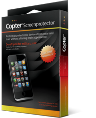 Copter Screenprotector Samsung Galaxy Note II