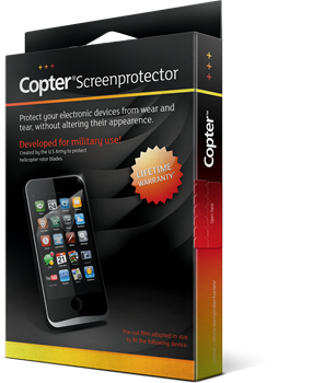 Copter Screenprotector iPhone 6/6S/7/8/SE