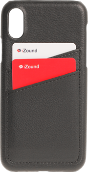 iZound Leather Card Case iPhone X Black