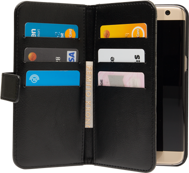 iZound Wallet Case Multi Samsung Galaxy S7 Edge Black